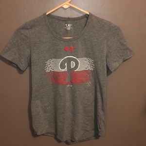 Women's Under Armour Philadelphia Phillies Tee Sm